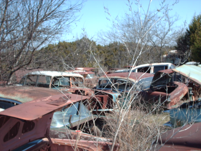 Vintage auto salvage yards los angeles