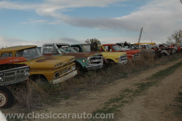 Junk yard tours woller auto parts lamar colorado classic chevy trucks sciox Images