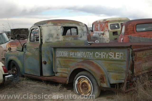 Junk yard tours woller auto parts lamar colorado an old truck waiting to be restored do you know what it is sciox Images